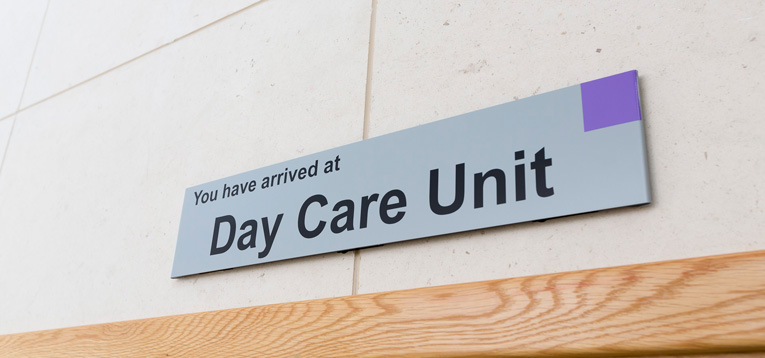 On admission - Blackrock Clinic Day Care Unit