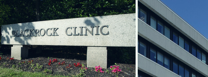 How to find Blackrock Clinic