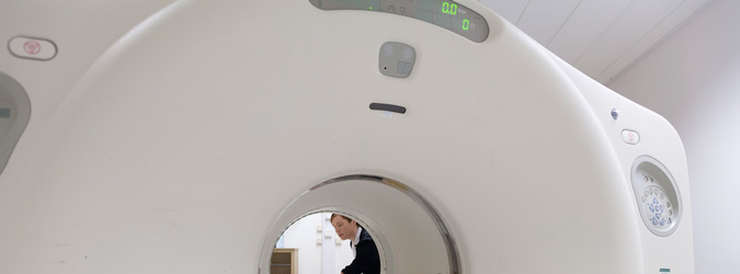 Image of CT Scanning Machine