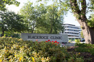 Exterior of Blackrock Clinic