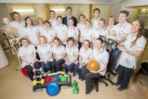 The whole team of Chartered Physiotherapists in Blackrock Clinic, Ireland