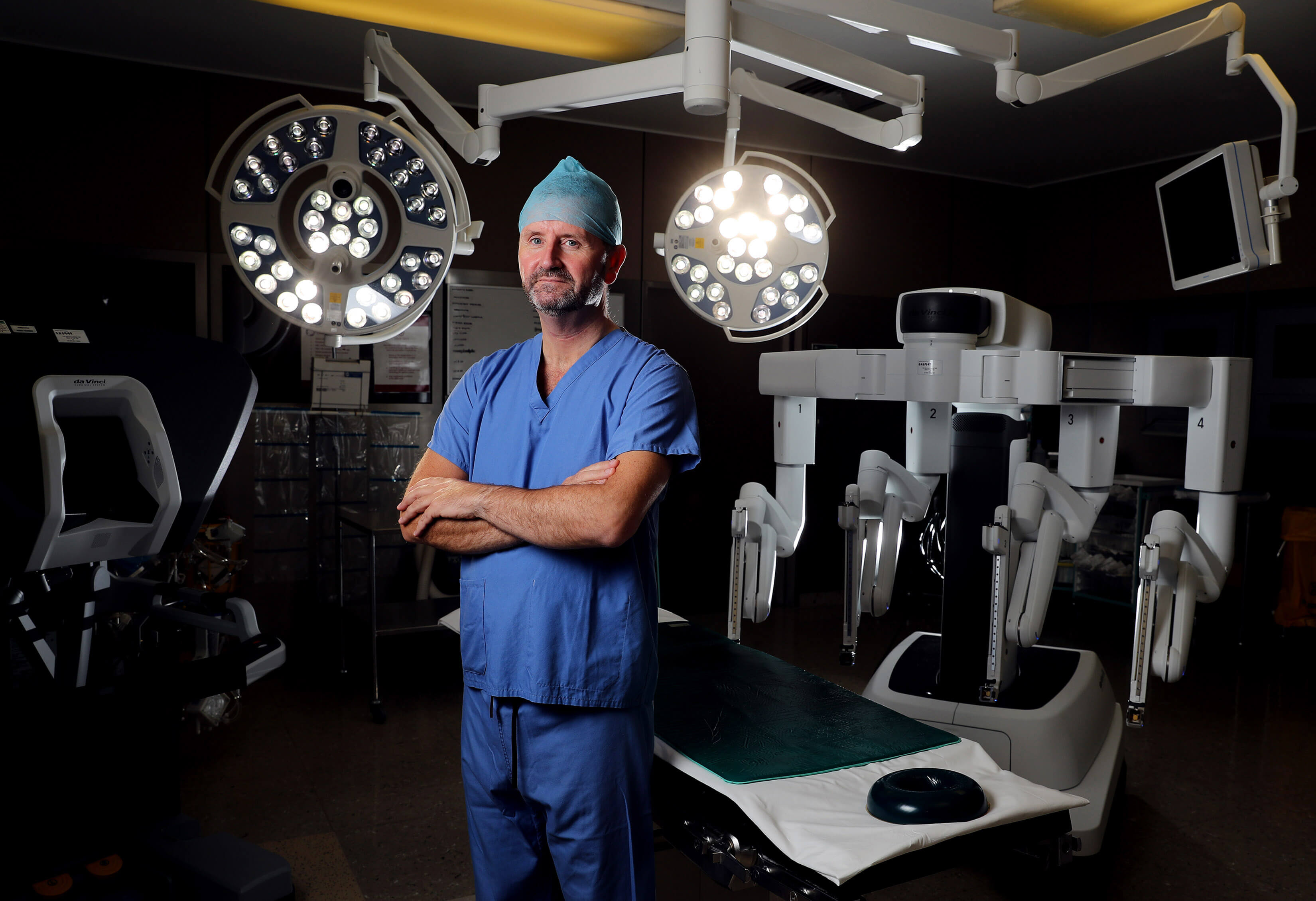 First heart bypass surgery using a robot is performed in Ireland