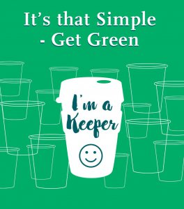Blackrock Clinic Goes Green message - It's that simple, get green